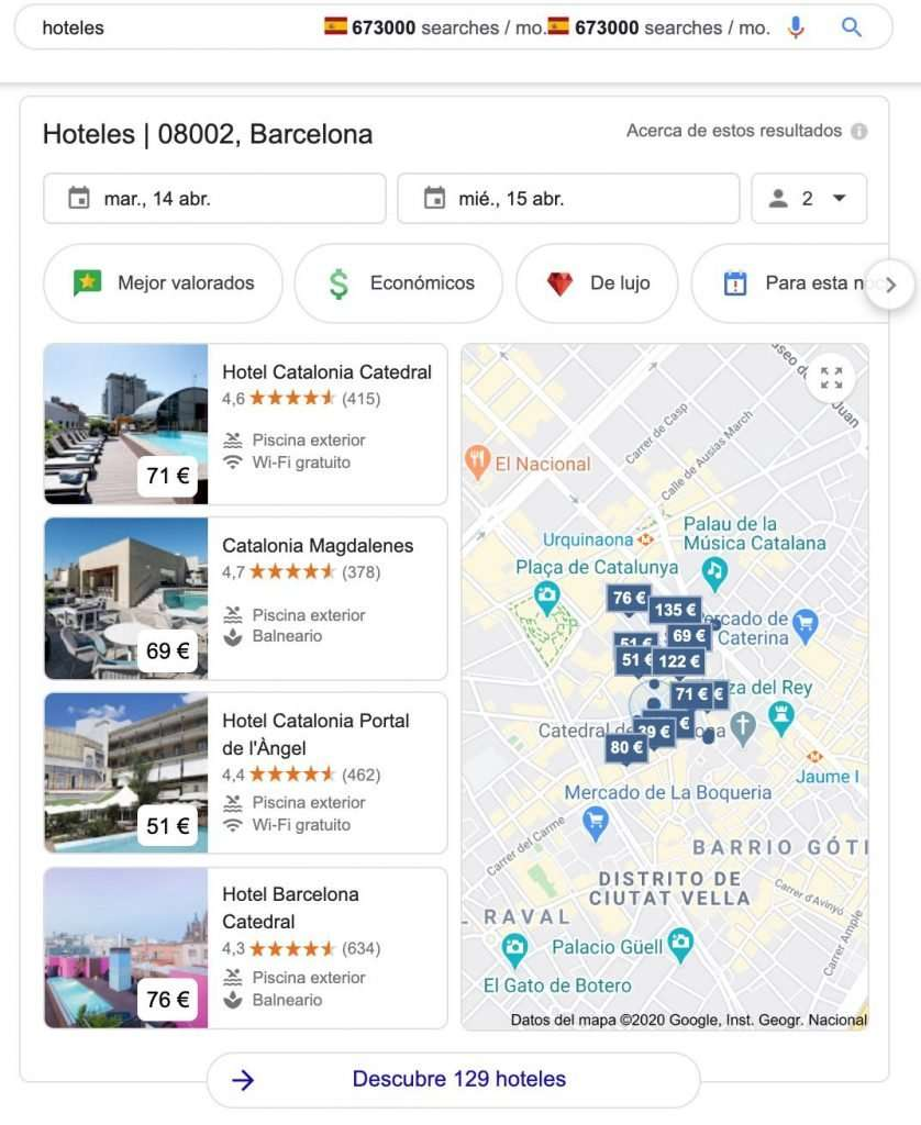 resultados locales para Hoteles