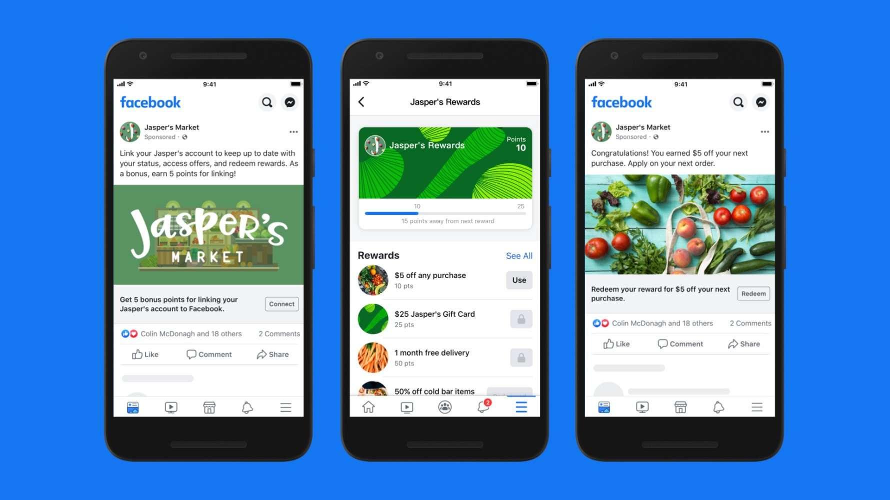 Facebook Shops y programa de fidelización