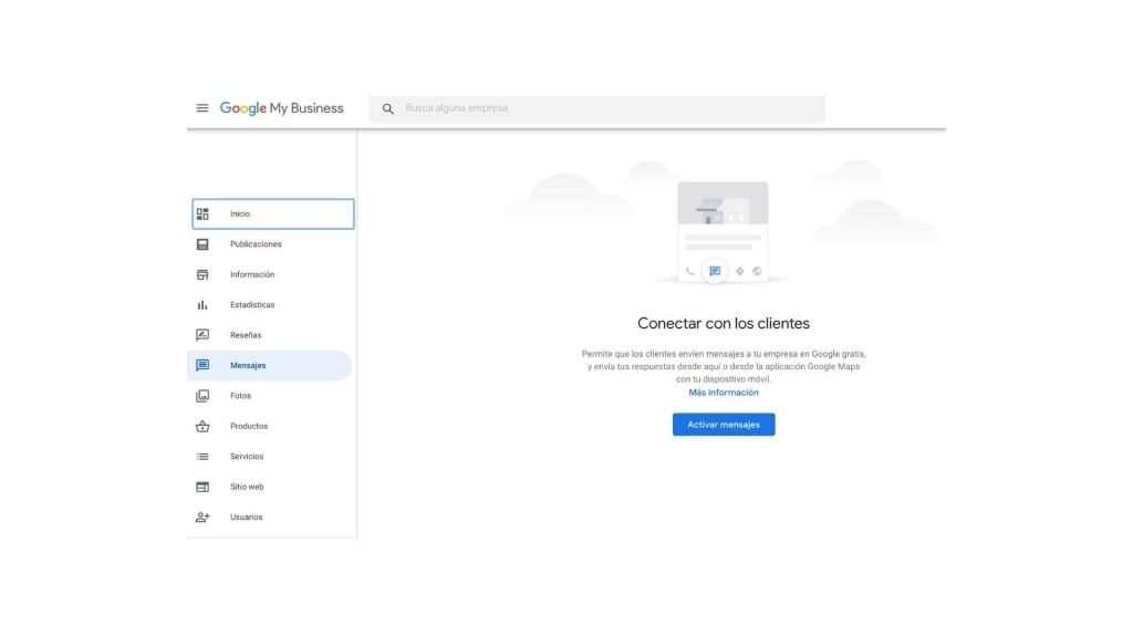 Activación de mensajería instantanea en desktop
